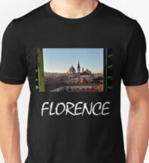 View of Florence from a window Unisex T-Shirt
