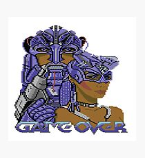Gaming [C64] - Game Over Photographic Print