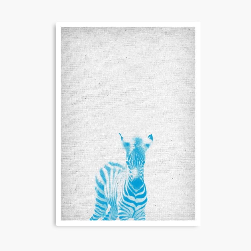 Zebra 02 Leinwanddruck