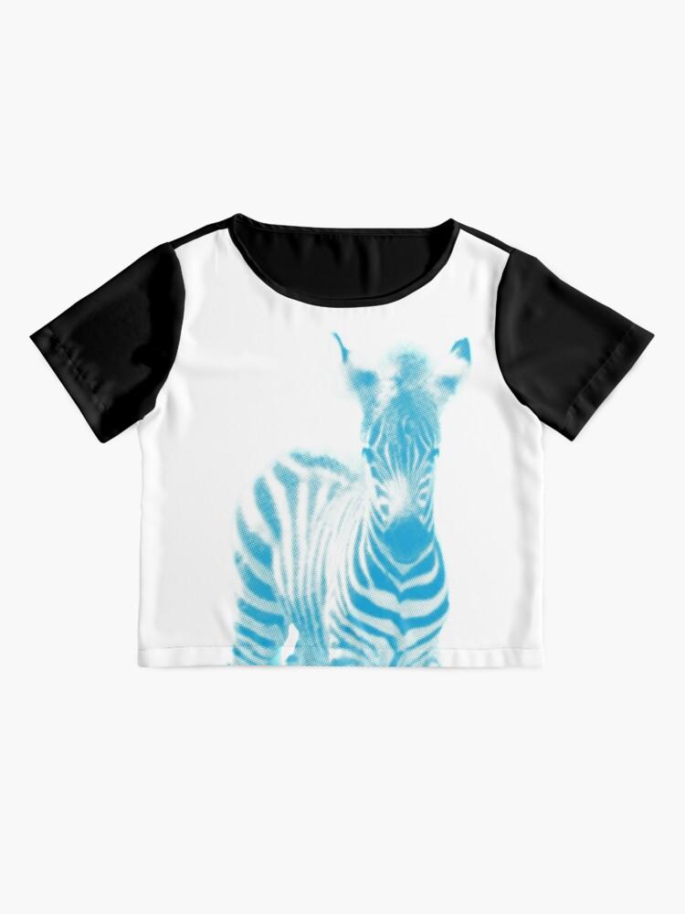 Alternative Ansicht von Zebra 02 Chiffontop