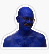 Blue Man #1 Sticker