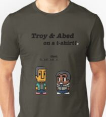 Troy and Abed · Community · TV show Unisex T-Shirt