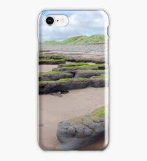 mud banks and big dunes at Beal beach iPhone Case/Skin