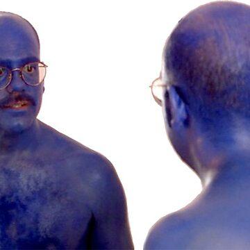 Blue Man #2 by sherineheg