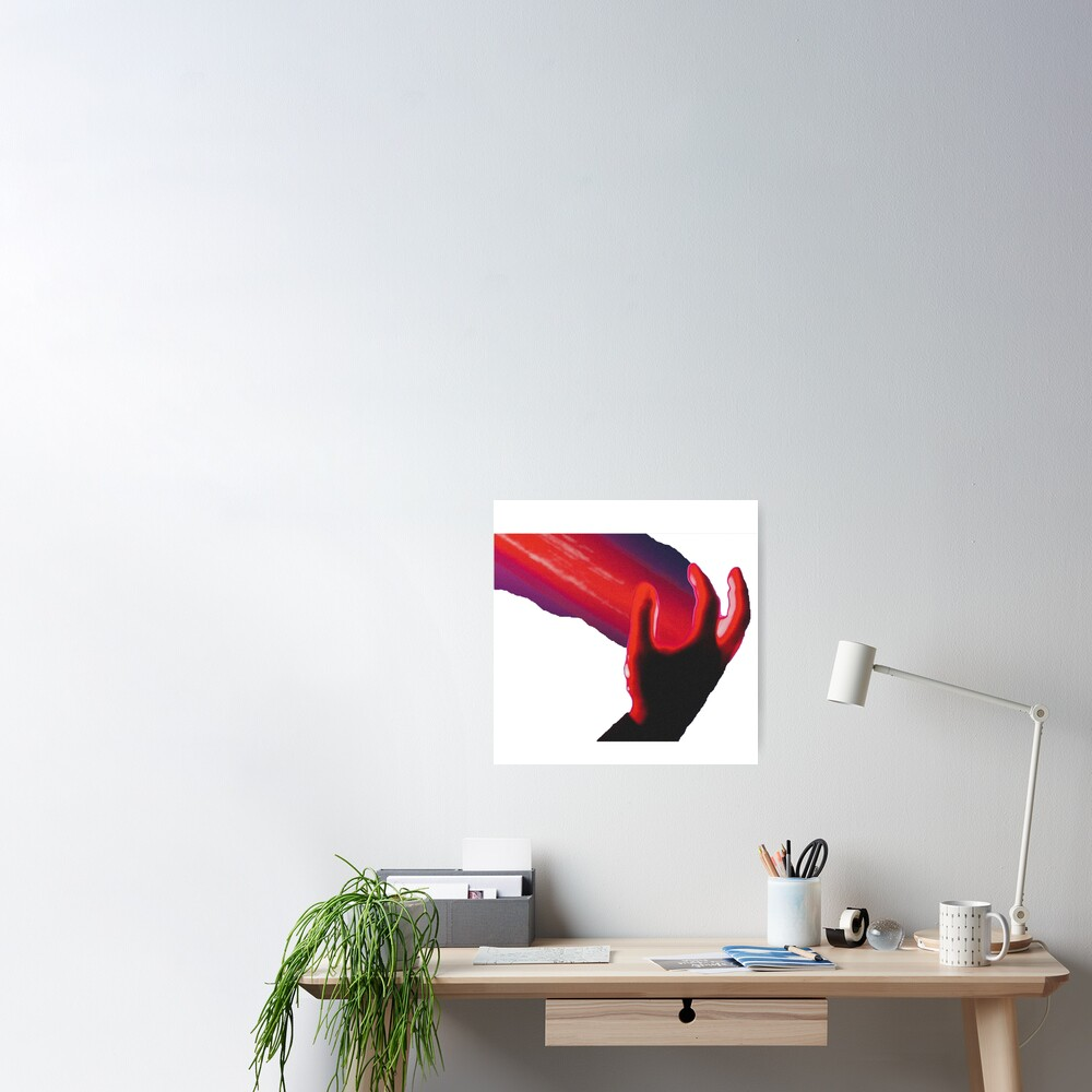 Zhu Palm Of My Hand Poster By Hautecouture Redbubble