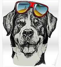 Dog Style Cool Funny Pet Poster
