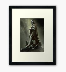 Skyrim - Legend Framed Print