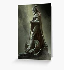 Skyrim - Legend Greeting Card
