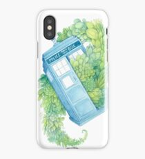 Succulents in Space iPhone Case/Skin