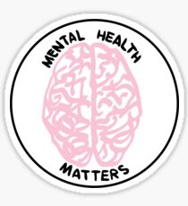 Mental Health Matters Sticker