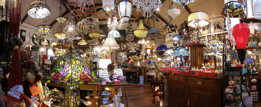The Lamp Shop by David James
