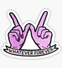 Whatever Forever Patch Sticker