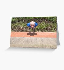 Hullywood Icon -  Lucas Meagor Greeting Card