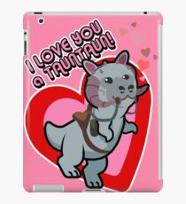 I Love you a TaunTaun! iPad Case/Skin