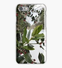 Snowy Branches iPhone Case/Skin