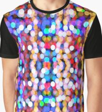 Bokeh Pattern Graphic T-Shirt