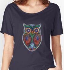 Ornate Owl 8 Women's Relaxed Fit T-Shirt