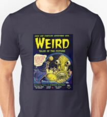 Vintage Weird Tales of the Future Alien Science Fiction Unisex T-Shirt