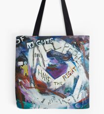 The Genetic Bill of Rights Painting Series Tote Bag