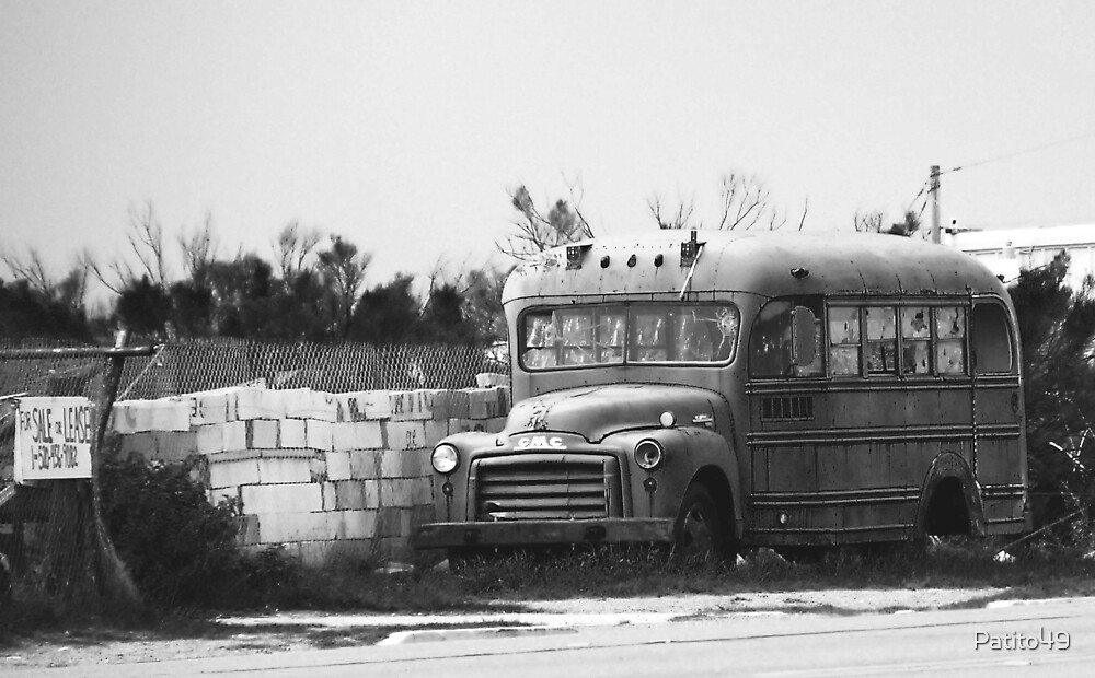 Schoolbus at Fort Huachuca by Patito49