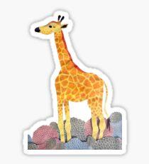 HANDMADE GIRAFFE | collage Sticker