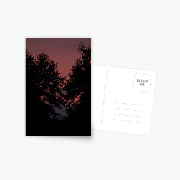 after sunset Postcard