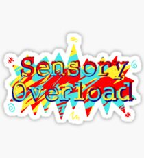 Sensory Overload Sticker