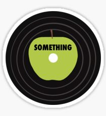 Something Record Sticker