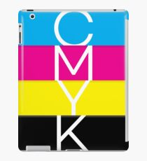 CMYK (geeky designer graphic) iPad Case/Skin