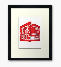 Jack Of All Trades Framed Print