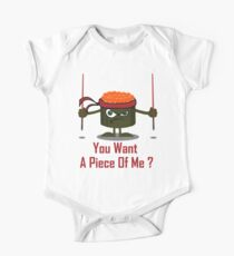 You Want A Piece Of Me - Angry Sushi Kids Clothes