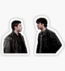 sam+dean in s1 Sticker