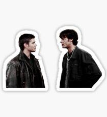 sam+dean in s1 Sticker