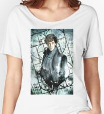 Sherlock watercolor piece Women's Relaxed Fit T-Shirt