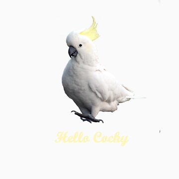 Hello Cocky by SuzyB