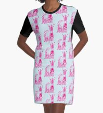 Zebra 05 T-Shirt Kleid