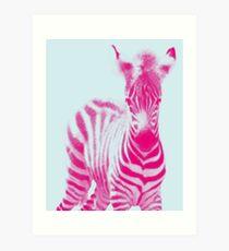 Zebra 05 Kunstdruck
