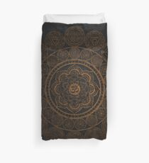 Sacred Geometry - Circular Connections Duvet Cover