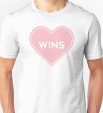Love Wins Heart Unisex T-Shirt