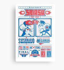 SMASH Fight Night Metal Print