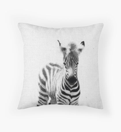 Zebra 06 Throw Pillow
