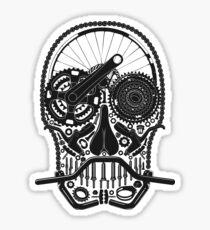 Cycling in my bones Sticker