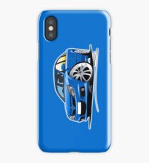 Vauxhall Vectra VXR Blue iPhone Case