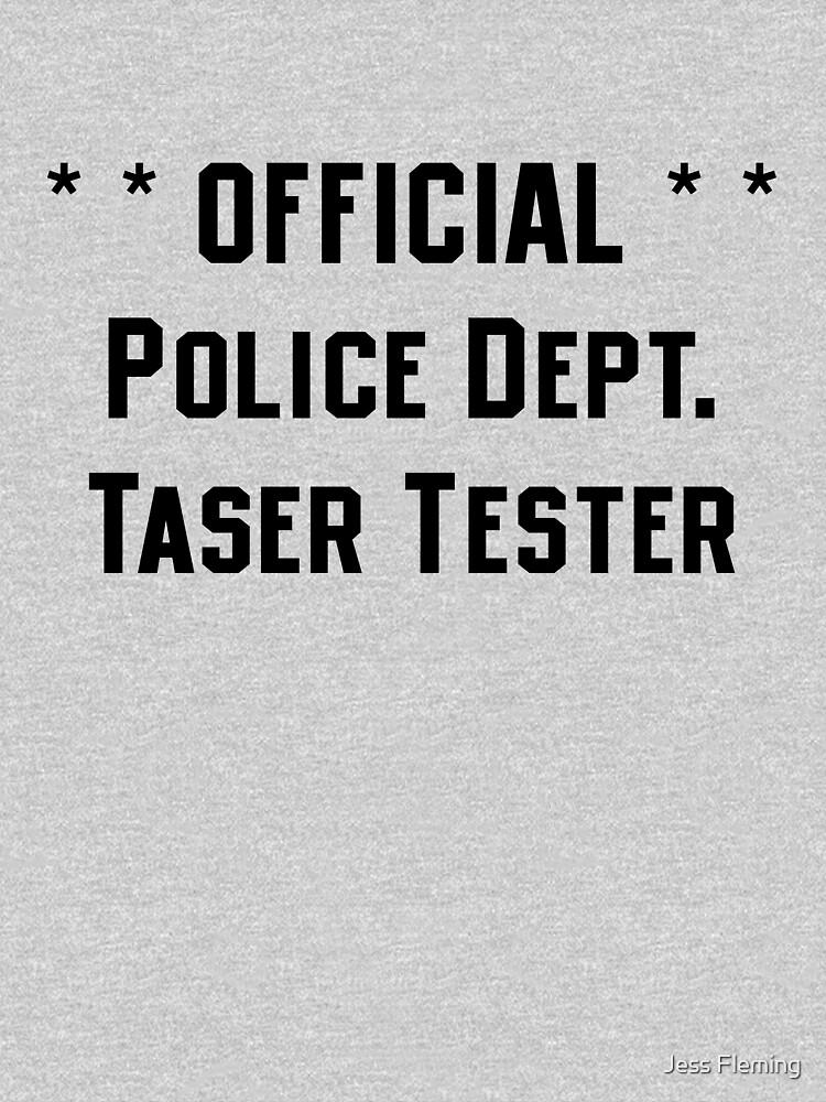Official Police Dept Taser Tester by BigJess