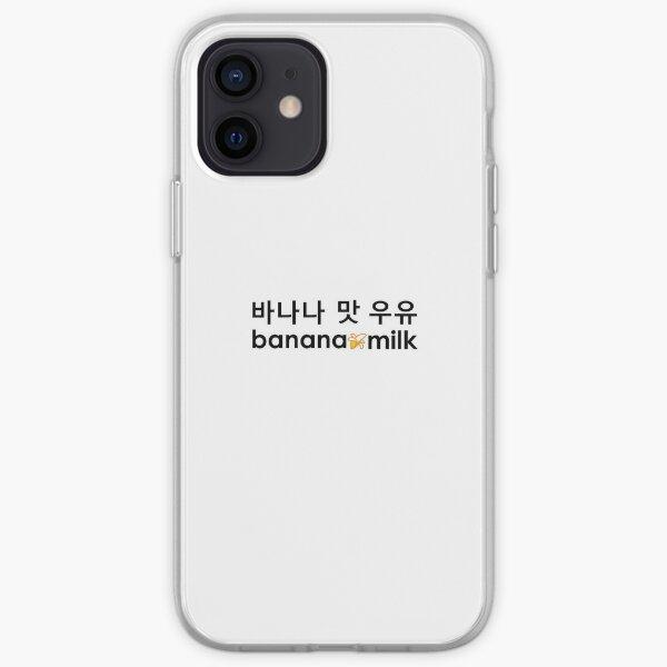 banana milk   banana-mat-uyu   바나나맛우유   learn korean ~  iPhone Soft Case