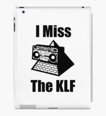I Miss The KLF - Pyramid Blaster iPad Case/Skin