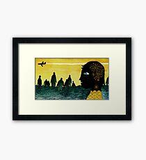 """Cape Town"" Illustration Tarmasz Framed Print"