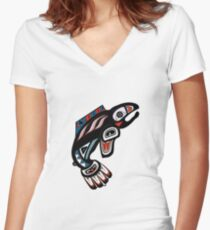 A Tribute Women's Fitted V-Neck T-Shirt