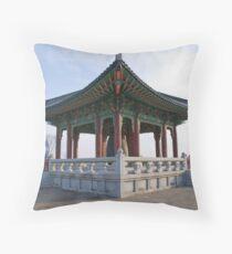 """Freedom Bell"" - Korean DMZ Throw Pillow"