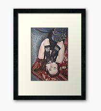"""""""Chains"""" Framed Print"""